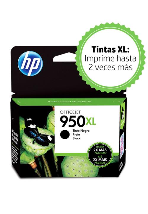 Cartucho HP Tinta 950xl Negro Cn045al