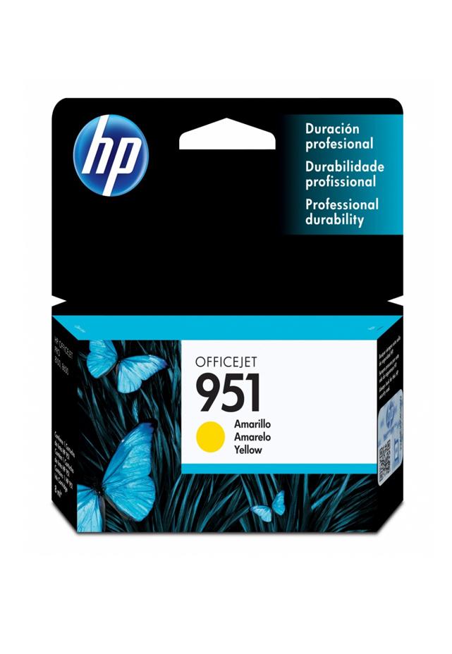 Cartucho HP Tinta 951 Amarilla Cn052al