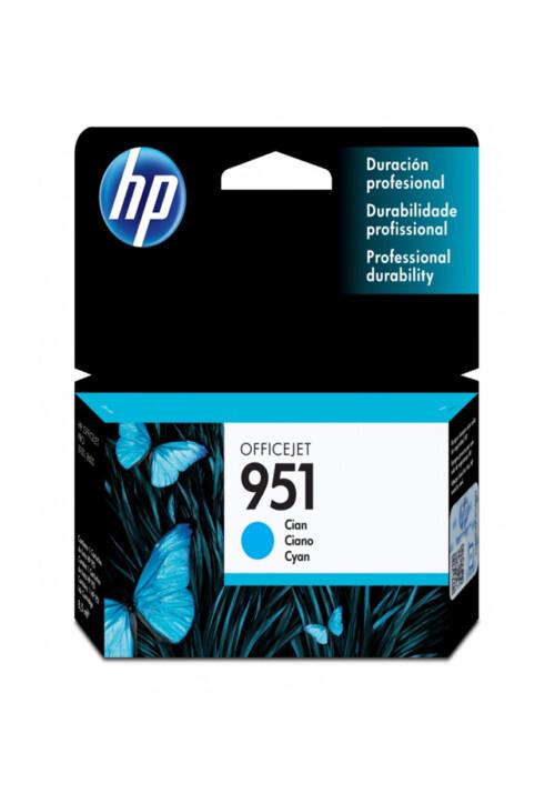 Cartucho HP Tinta 951 Cyan Cn050al Los cartuchos de tinta HP originales se diseñaron especialmente para que funcionen a la perfección con su impresora o Todo-en-Uno HP.