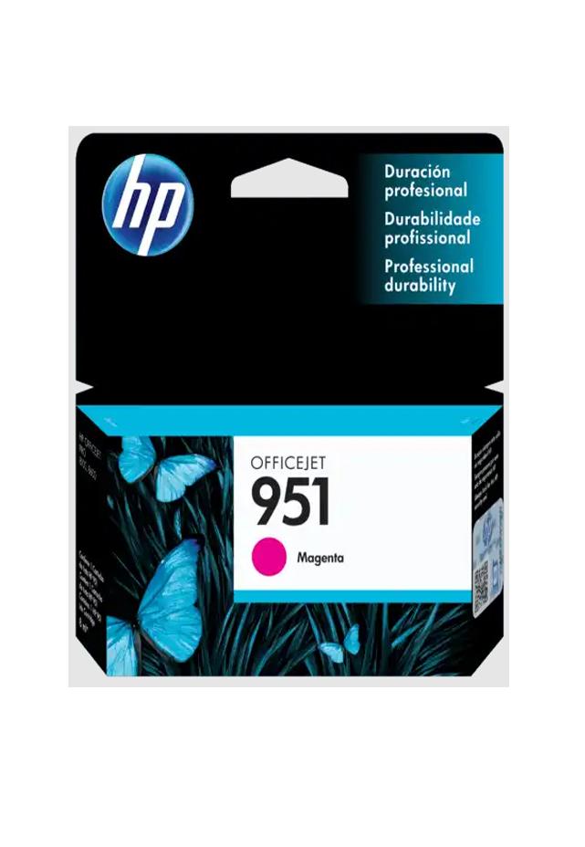 Cartucho HP Tinta 951 Magenta Cn051al