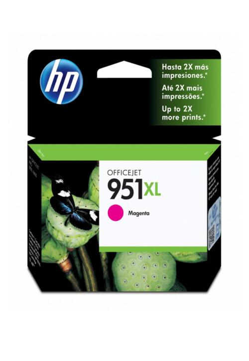 Cartucho HP Tinta 951xl Magenta Cn047al