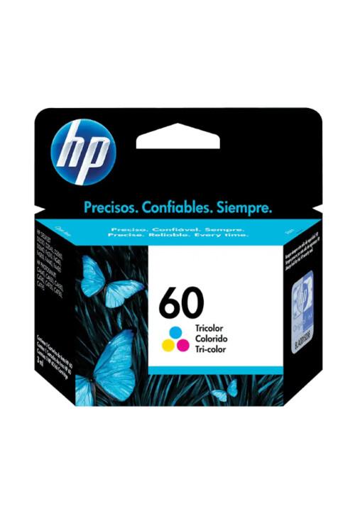 Cartucho de Tinta HP 60 Tricolor Original Cc643wl