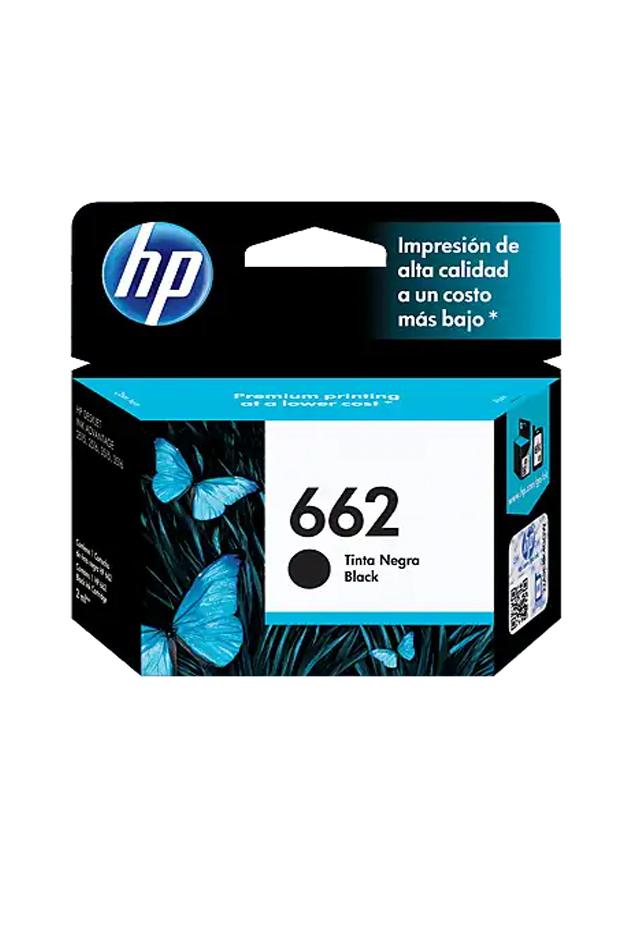 Cartucho de Tinta HP 662 Negra Original Cz103al