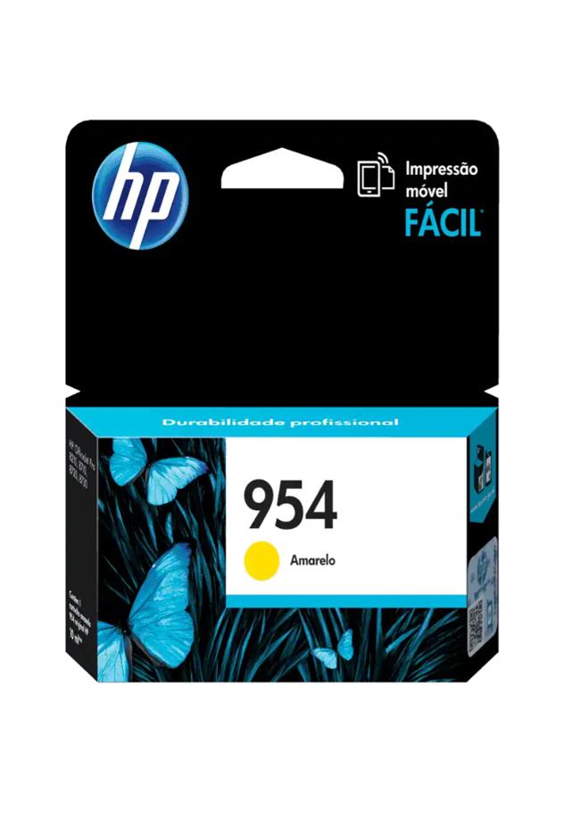Cartucho de Tinta HP 954 Amarilla Original L0s56a