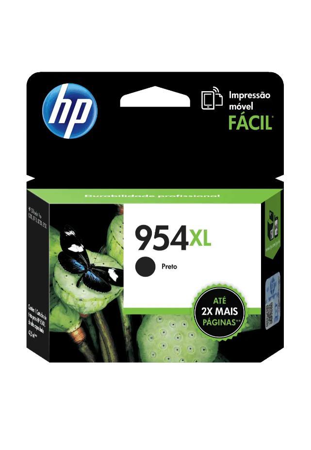 Cartucho de Tinta HP 954XL Negra Original L0S71AL