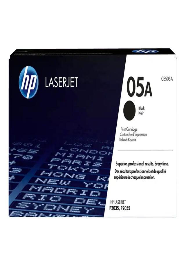 Cartucho de Tóner HP 05A Negro LaserJet Original Ce505a Todos los requerimientos Tintas, tóners e insumos de Cómputo y Tecnología. que necesita tu negocio están en CIPAC