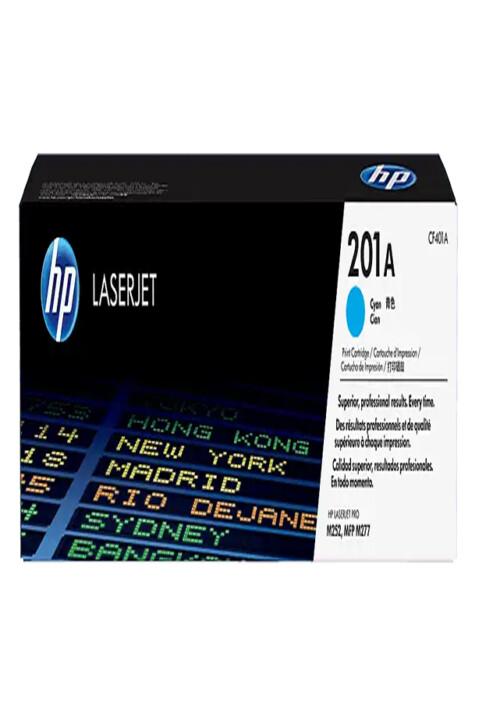 Cartucho de Tóner HP 201A Cian LaserJet Original CF401A