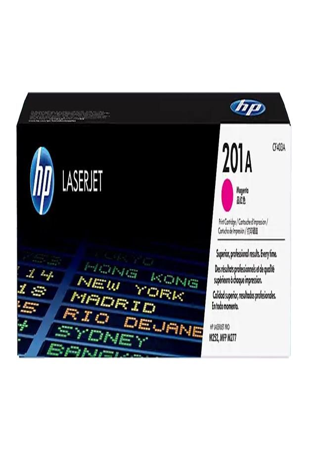 Cartucho de Tóner HP 201A Magenta LaserJet Original CF403A