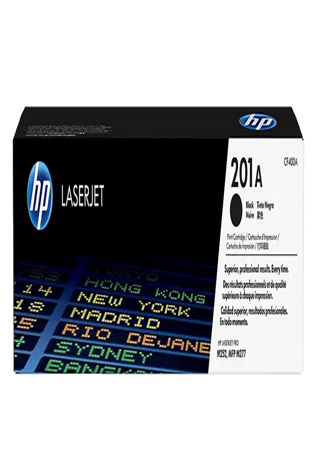 Cartucho de Tóner HP 201A Negro LaserJet Original CF400A