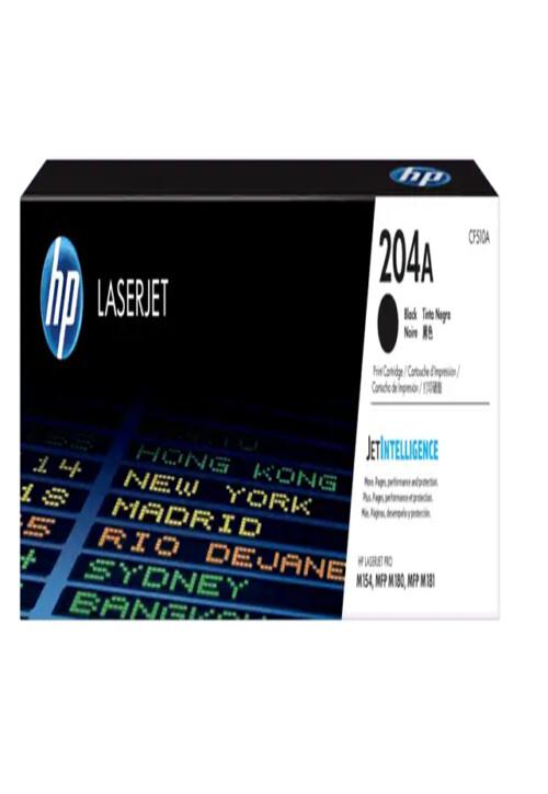 Cartucho de Tóner HP 204A Negro LaserJet Original CF510A