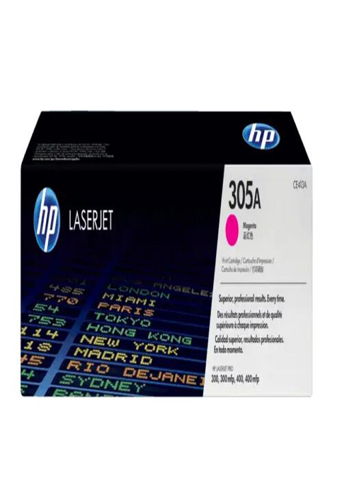 Cartucho de Tóner HP 305A Magenta LaserJet Original Ce413a