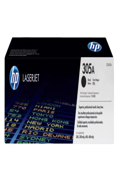 Cartucho de Tóner HP 305A Negro LaserJet Original Ce410a