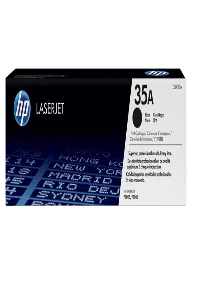 Cartucho de Tóner HP 35A Negro LaserJet Original CB435A