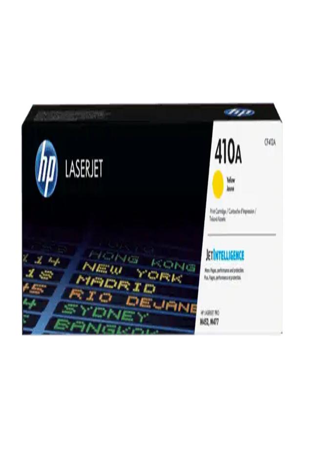 Cartucho de Tóner HP 410A Amarillo LaserJet Original Cf412a