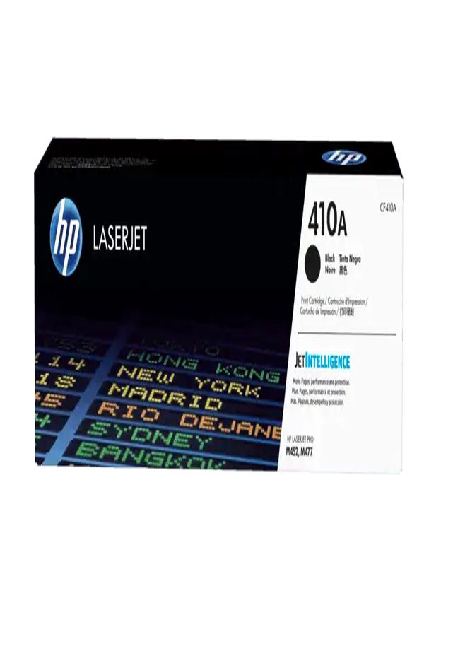 Cartucho de Tóner HP 410A Negro LaserJet Original Cf410a