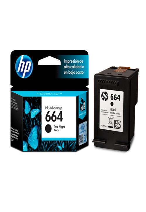Cartucho de tinta HP 664 Negro Original F6v29al