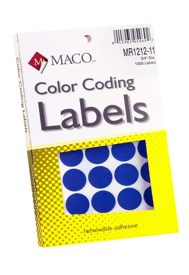 Etiqueta de codificación Redonda