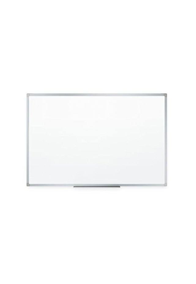 """Pizarrón Blanco con Marco de Aluminio 120cms x 240cms (48"""" x 96"""") Con porta plumón de aluminio anodizado en color blanco con barrenos para fijarlo a la pared. Todos los requerimientos de Pizarrones Papelería y Mobiliario que necesita tu negocio están en CIPAC."""