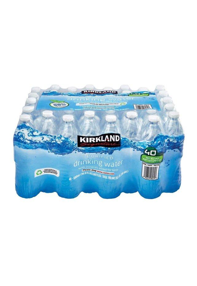 Agua Embotellada 500ml C/40 marca Kirkland Todos los requerimientos de Desechables, Cafetería y Limpieza que necesita tu negocio están en CIPAC
