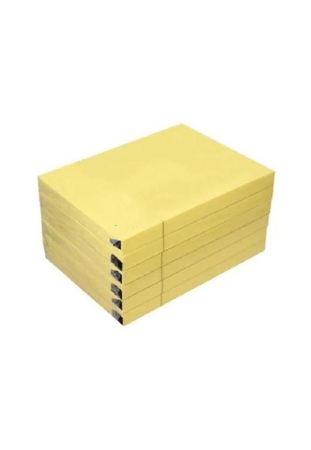 """Bloc engomado post it 3"""" x 5"""" color amarillo 12 piezas. Con 100 hojas auto adheribles cada bloque. Todos los requerimientos de Etiquetas, Tape y Notas Adhesivas que necesita tu negocio están en CIPAC"""