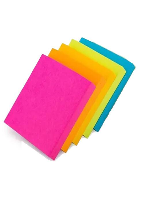 """Bloc engomado post it 3"""" x 3"""" color neón 12 piezas. Con 100 hojas auto adheribles cada bloque. Todos los requerimientos de Etiquetas, Tape y Notas Adhesivas que necesita tu negocio están en CIPAC."""