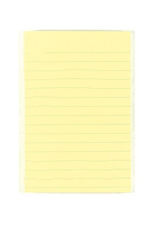 """Bloc engomado post it 4"""" x 6"""" rayado color amarillo 12 piezas. Con 100 hojas auto adheribles cada bloque. Todos los requerimientos de Etiquetas, Tape y Notas Adhesivas que necesita tu negocio están en CIPAC."""