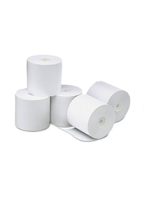 """Rollo Térmico 3"""" 1/8 Con 50 Piezas 80mm x 70mm. 50 piezas Todos los requerimientos de Rollo Térmico, papel y Papelería que necesita tu negocio están en CIPAC"""